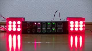 パトライトのドクターカー・病院救急車用のサイレンアンプ「SAP-500RBVK...