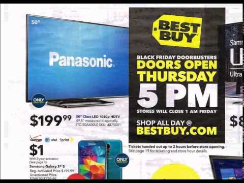 Panasonic TC 50A400 TV in black Friday 2014 sale Best Buy review