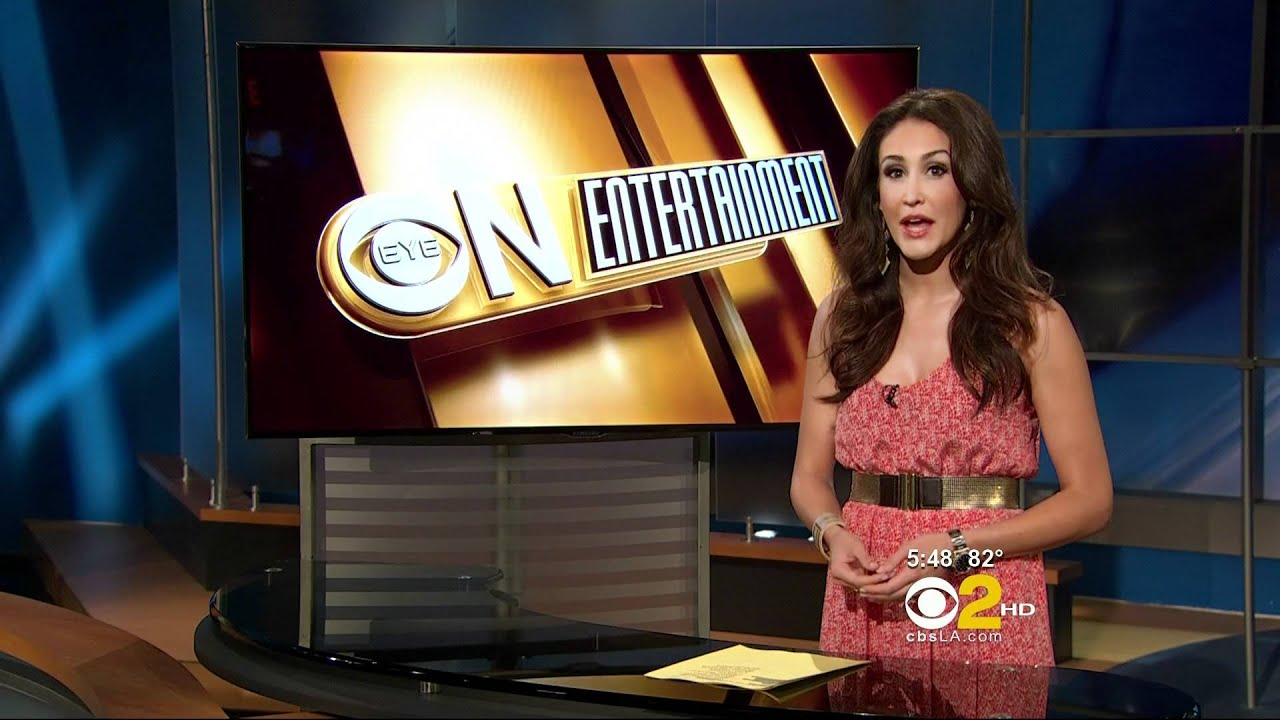 Suzanne Marques 2011/09/22 5PM CBS2 HD; Red dress - YouTube