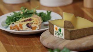 Tess Ward's Gluten Free Comté Cheese, Sweet Potato And Fig Tart | Comté Cheese