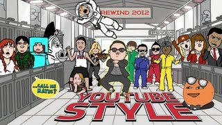 Repeat youtube video Rewind YouTube Style (Gangnam Style) 2012-2013 [HD]