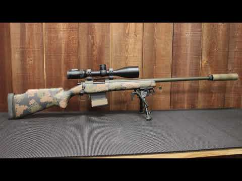 Short Action Customs Owner Mark Gordon's Personal Varmint Rifle