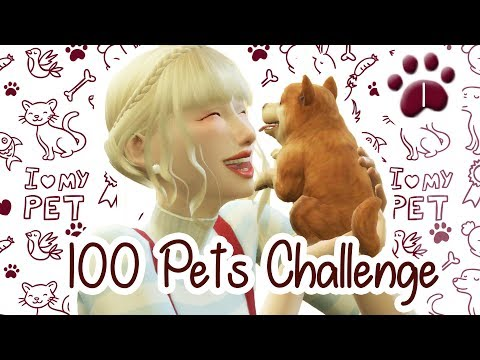 The Sims 4 Indonesia : 100 Pets Challenge - Adopsi Murphy~ 🐾1