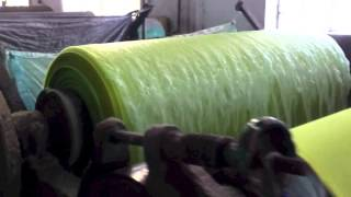 Live and let Dye: dyeing fabric inside WBC's jute production facility