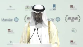WFES 2013 - H.H. General Sheikh Mohammed Bin Zayed Al Nahyan