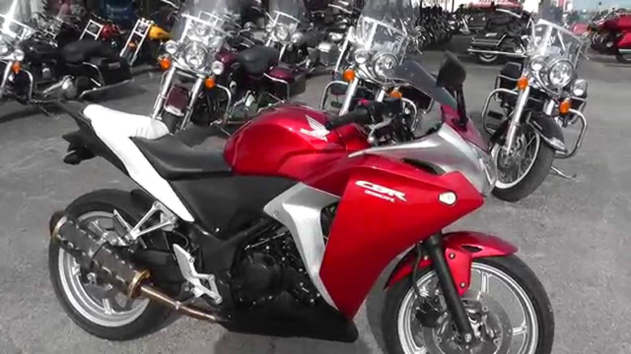 205221 - 2012 Honda CBR250R - Used Motorcycle For Sale