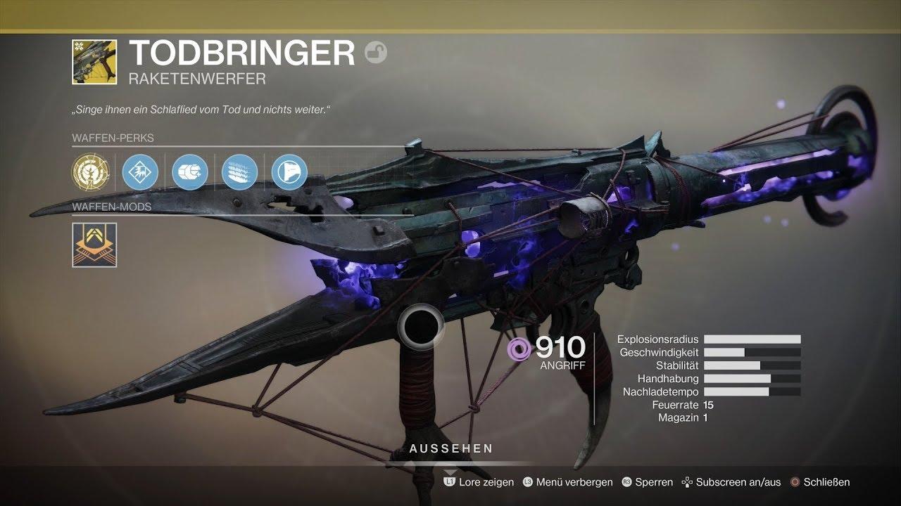 Todbringer Destiny 2