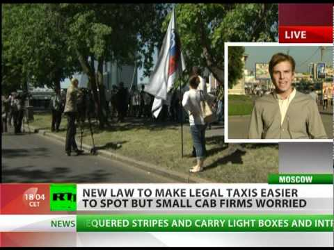 Moscow's taxis to get a brand new look!
