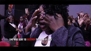 Pastor Alph Strikes A Woman With Blindness (Alleluia Ministries International)