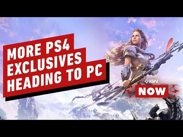 Sony Confirms More PlayStation Exclusives Heading to PC - IGN Now