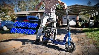 79cc Predator Scooter Build Part 2