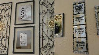 DIY Mirrored Wall Home Decor Ideas| 2 Dollar Tree Mirrored Wall Home Decor Ideas