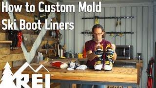 Skiing: How to Custom Mold Ski Boot Liners