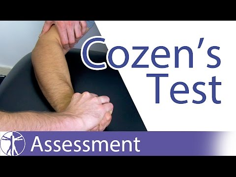 Cozen's Test⎟Lateral Epicondylitis