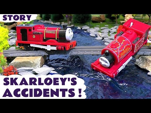 Thumbnail: Thomas and Friends Toy Trains for kids - Skarloey's Accidents - Train Toys for children ToyTrains4u