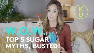 SUGAR FACTS AND FICTION: Top 5 Sugar Myths, Busted! Happy Halloween 👻