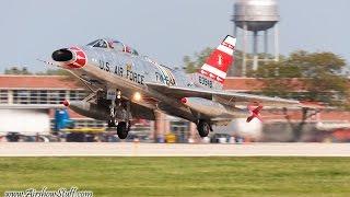 F-100 Super Sabre - Entire Performance- Thunder Over Michigan 2010