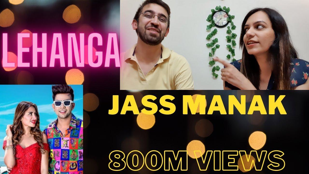 800M Views || Lehanga Jass Manak Reaction Video || 4AM Reactions