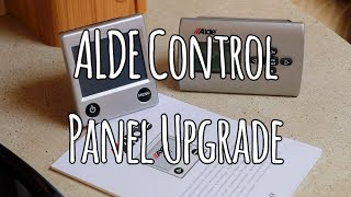 Alde control panel upgrade
