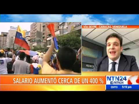 """""""Venezuela es el único país en el que los trabajadores no se alegran por un aumento"""": Cusanno"""