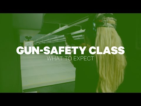 Gun-Safety Class: What To Expect