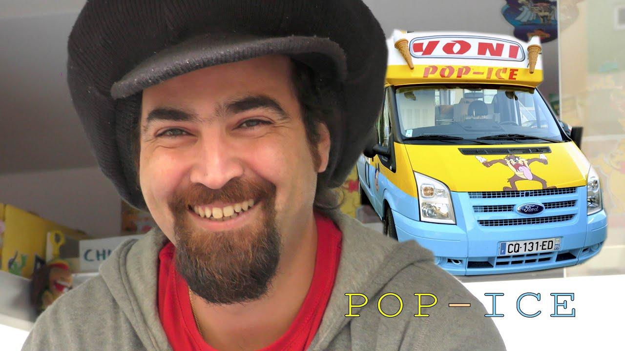 mini reportage sur yoni abergel alias pop ice camion de glace vend e 85 4k 2015. Black Bedroom Furniture Sets. Home Design Ideas