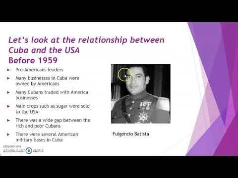 Grade 12 - The Cuban Missile Crisis - Part 1
