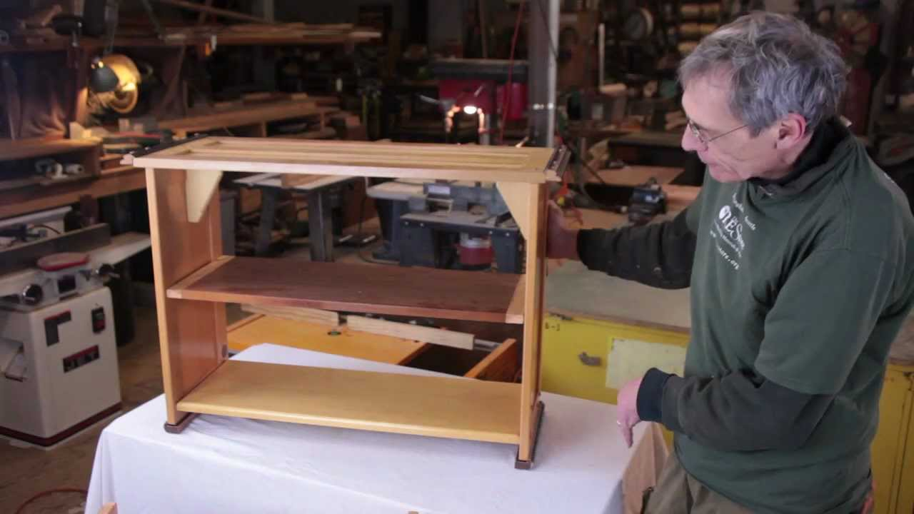 how to make a bookshelf out of a door