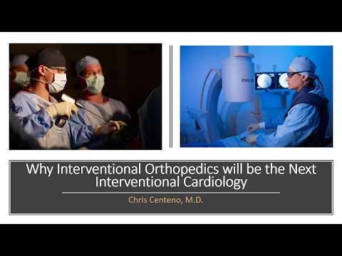 Why Interventional Orthopedics will be the Next Interventional Cardiology