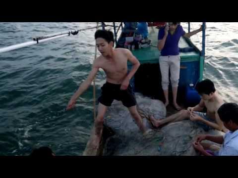 Cảm giác câu mực đêm trên biển Cà Mau - cửa biển Hương Mai - U Minh 2017 - p6