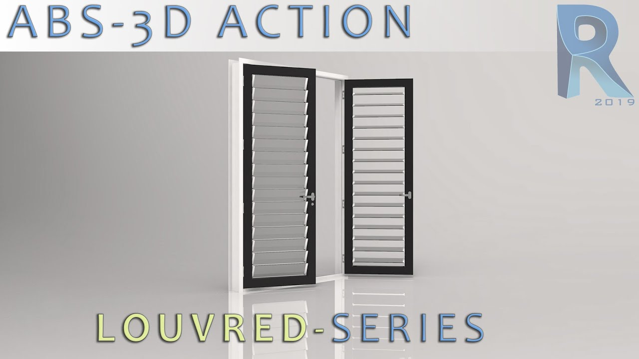 Revit Fully Parametric Louvred Doors x 2 & Revit Fully Parametric Louvred Doors x 2 - YouTube