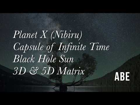 Planet X (Nibiru), Sun Simulator, 3D and 5D Matrix, Woven Tapestry of Infinite Time