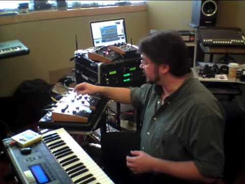 Moog MF-101 Lowpass Filter Moogerfooger Demo - Daniel Fisher