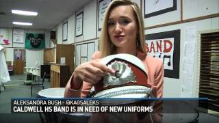 Caldwell High School needs new band uniforms