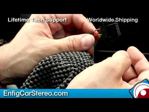 Audi Q7 iPod iPhone AUX USB Bluetooth INSTALLATION Dension GW52M01 GW53M01