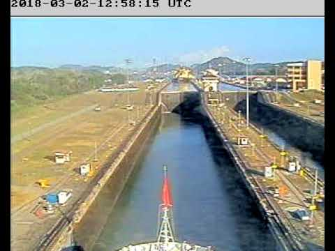 2018-03-02 Cunard MS Queen Victoria Panama Canal Full Transit (Pacific to Atlantic)