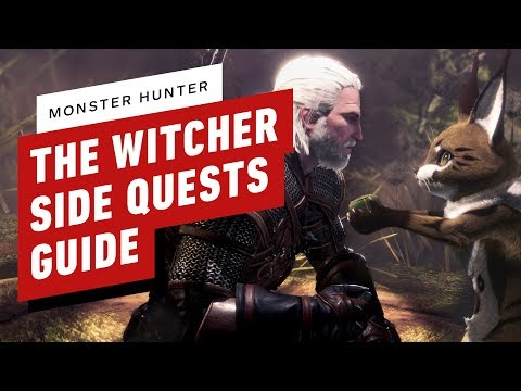 Monster Hunter World: Witcher Event Side Quest Guide thumbnail