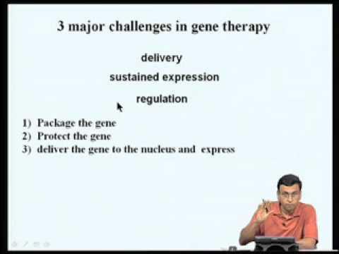 Mod-09 Lec-33 Human Gene Therapy