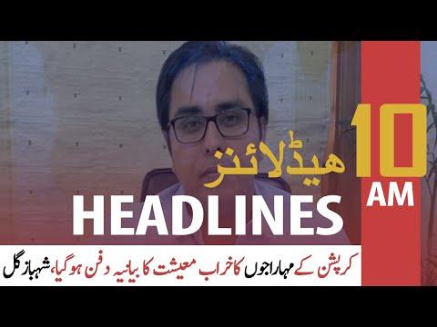 ARY NEWS HEADLINES | 10 AM | 4th DECEMBER 2020