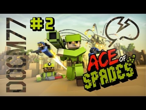 Ace Of Spades with Mindcrack #2 - Demolition Dragon Island