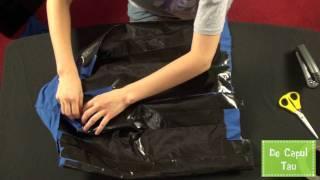 Cum sa-ti faci geanta din tricou