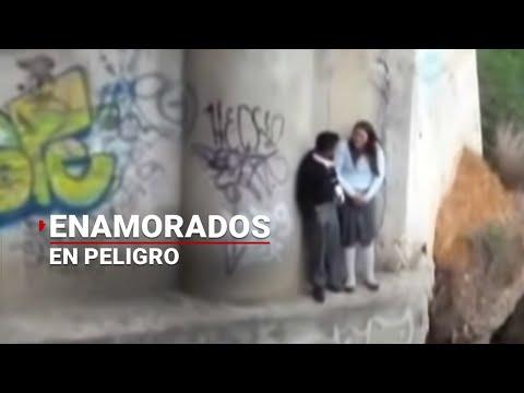 Río pone en peligro a enamorados en Oaxaca | Noticias de Oaxaca