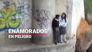 Río pone en peligro a enamorados en Oaxaca   Noticias de Oaxaca
