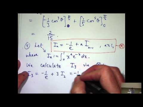 Partial derivatives and integration