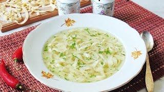 Домашняя лапша для супа рецепт теста