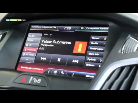 Ford Sync voice control system is like Siri for your car