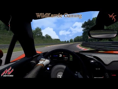 Assetto Corsa Dream Pack 1 - McLaren P1 at Nordschleife Endurance - Drivers View |