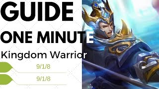 How To Play Yun Zhao in ONE MINUTE – Mobile Legends Yun Zhao Guide