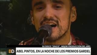 Abel Pintos disfruta de su premio Gardel – Telefe Noticias