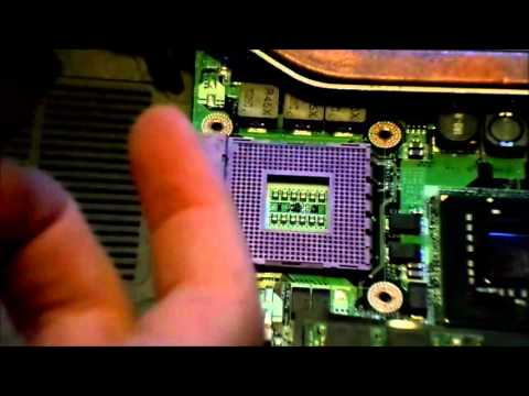 How to Replace the CPU inside your Laptop